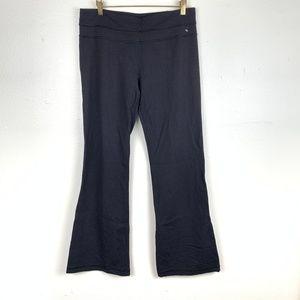 Lululemon Wide Leg Black Work Out Pants